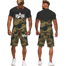 Summer, Fashion, 3dtracksuit, Men's Fashion