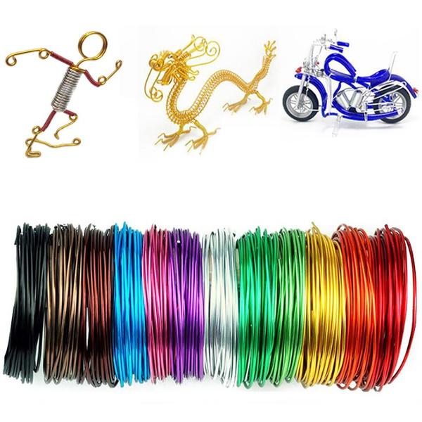 Cord, Bonsai, wrappedcraftwire, Jewelry