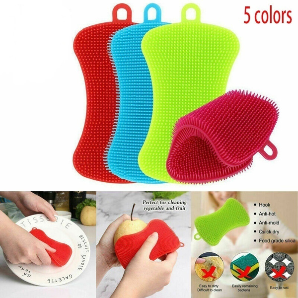Cleaner, Kitchen & Dining, washing, Silicone