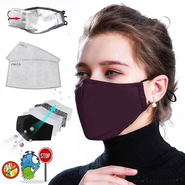 Cotton, pm25filter, mouthmask, Face Mask