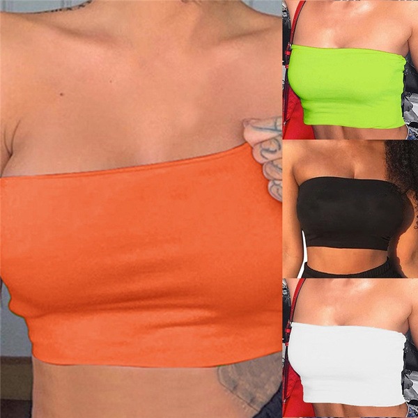 sexy bra, collar slim, Woman, Tank