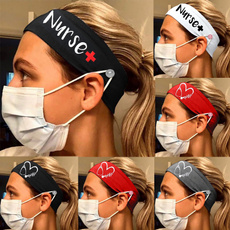 Women, Head, facemaskholder, Head Bands
