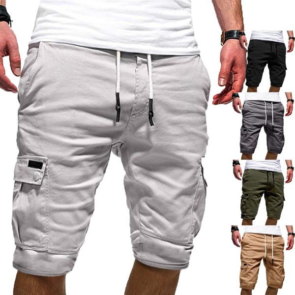Summer Short Pants Men Fashion Summer Beach Trousers Loose Men Pants Shorts    Wish