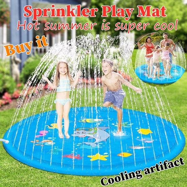 Summer, gamesprinklercushion, waterspraymattoy, beachspraypad