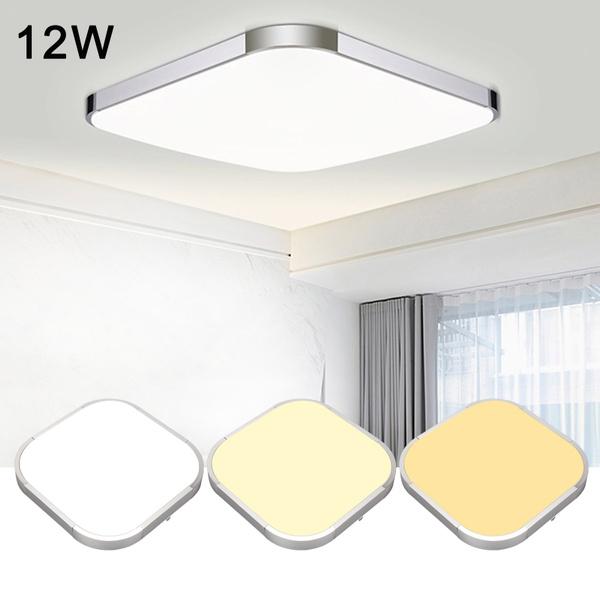 12wceilinglight, modernlightfixture, Bathroom, ledceilinglight