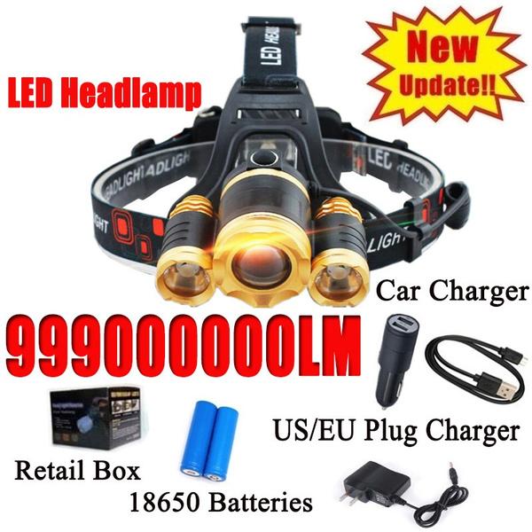 Flashlight, ledheadlamp, Head, led