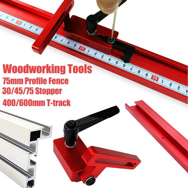 45//30 75Type Aluminium Alloy T-track T-Slot Sliding Bracket For Woodworking Tool