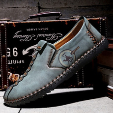 Fashion, casual leather shoes, leather, shoes for men