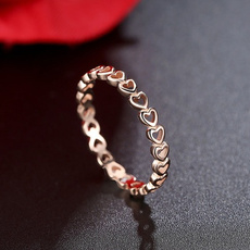 Heart, Love, Women Ring, gold