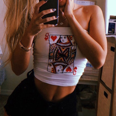 queenprinted, Summer, pokerprint, Fashion