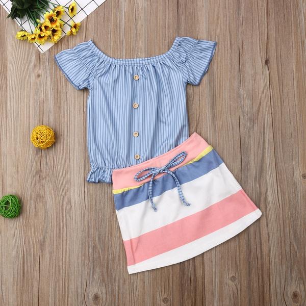 Mini, Baby Girl, buttontop, Summer