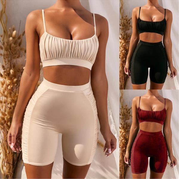 sleeveless, Vest, Plus Size, cycling shorts
