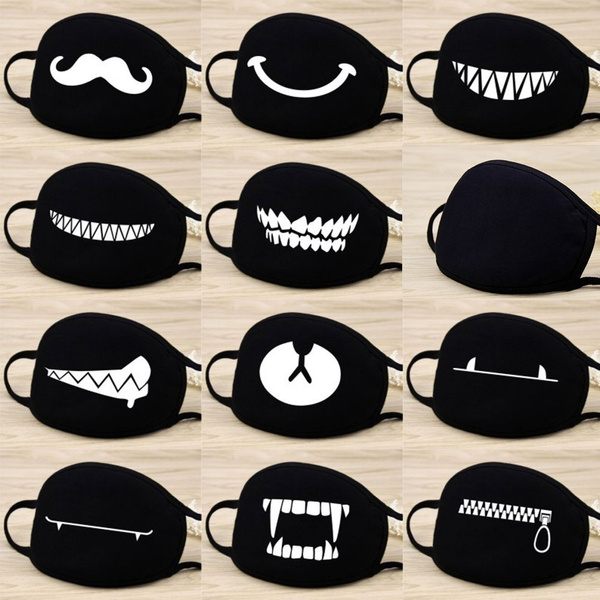 cute, Fashion, dustmask, funnyfacemask
