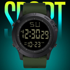 waterproofsportswatch, Fashion, led, armywatch