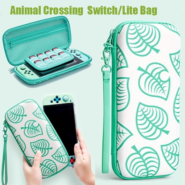 nintendo switch lite animal crossing case