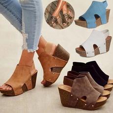wedge, Sandals, Women Sandals, sandalsshoe