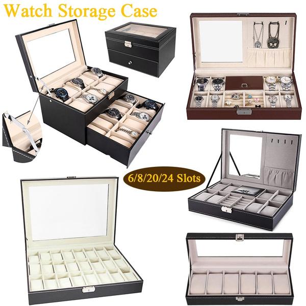 Box, watchdisplayorganizer, watchstorage, watchdisplay