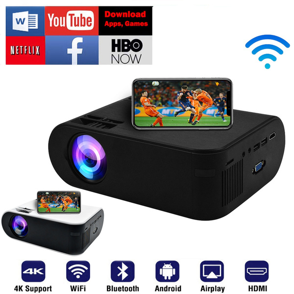 Mini, bluetoothproyec, wifiprojector, Hdmi