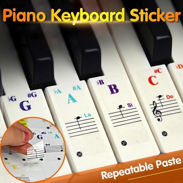 pianosticker, 49617688keykeyboard, pianokey, Stickers