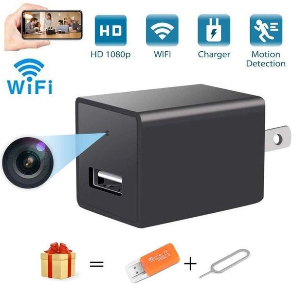phonecharger, Camera, Security & Surveillance, wallchargercamera