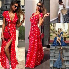 Fashion, long dress, Beach, Dress