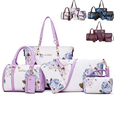 women's shoulder bags, Shoulder Bags, Flowers, Totes