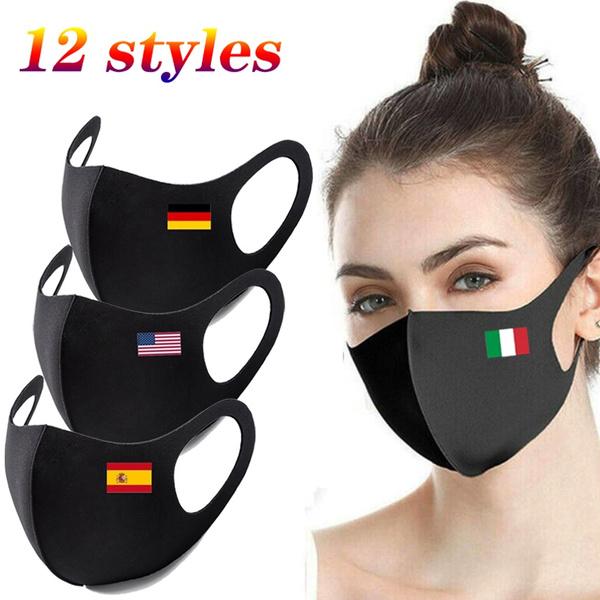 dustmask, flagmask, printfacemask, unisex