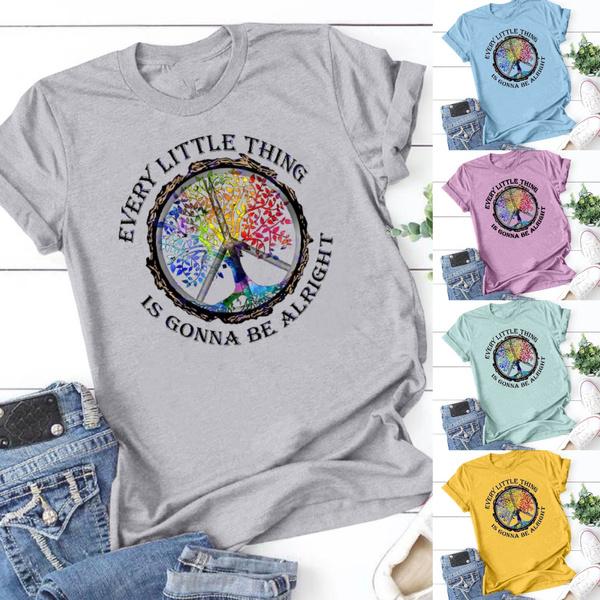 Fashion, cottontee, hippie, printed