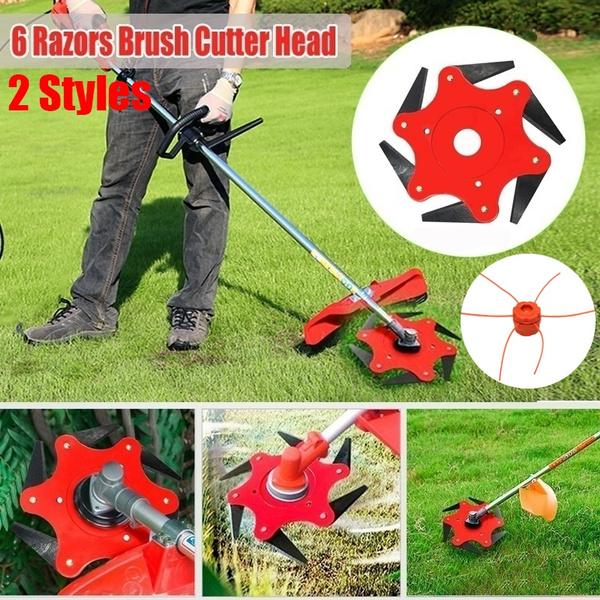 40 Teeth 6 In Grass Trimmer Brush Cutter Head Lawn Garden Strimmer Mower Blade