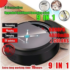 sweeper, Rechargeable, vacuumrobotcleaner, Cleaning Supplies