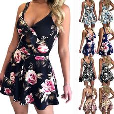 Summer, Shorts, Necks, Dress