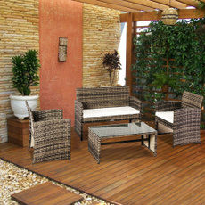 rattanwickersofa, Outdoor, gardensofa, Home & Living