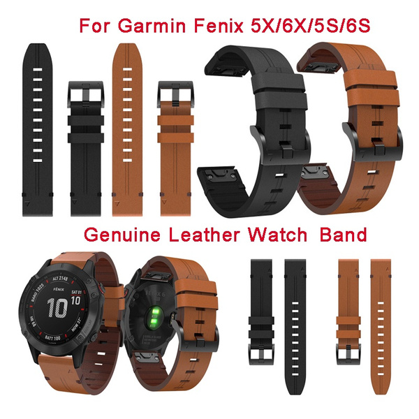 garminfenix6xband, garminleatherstrap, garminwatchband, leather