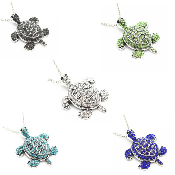 Turtle, Fashion, chainsnecklace, Jewelry