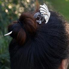 celtichairpin, Irish, dragonhairpin, hairholder
