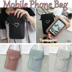 Touch Screen, Fashion, PU, Simple
