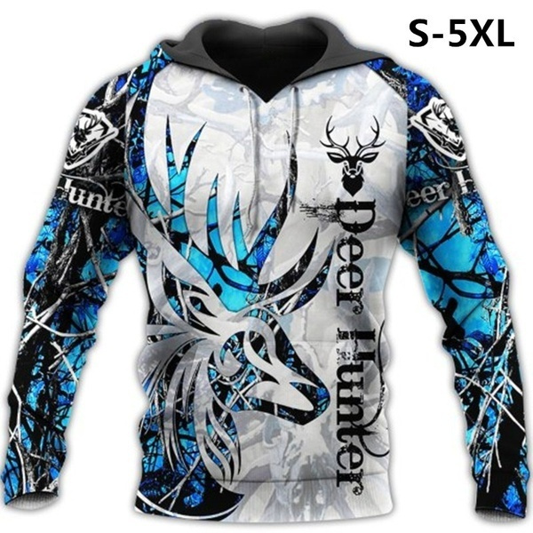 Beautiful, 3D hoodies, Casual Jackets, Blues