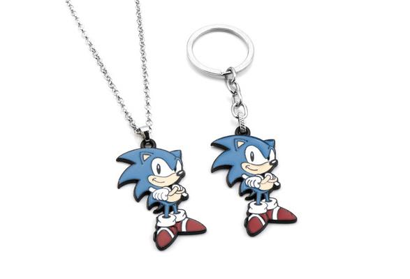 Sonic The Hedgehog Official Genuine Anime PVC Key Chain *NEW*