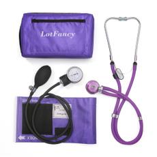 bloodpressurecuffstethoscope, Blood, purple, manualbloodpressurecuffwithstethoscope