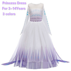 Princess, Carnival, Cosplay Costume, Vestidos