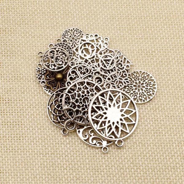 Jewelry, Flowers, accessoriescraft, Pendant