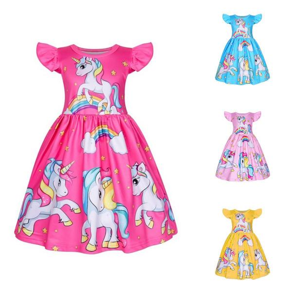 princessdressforgirl, Fashion, ruffle, unicorndre