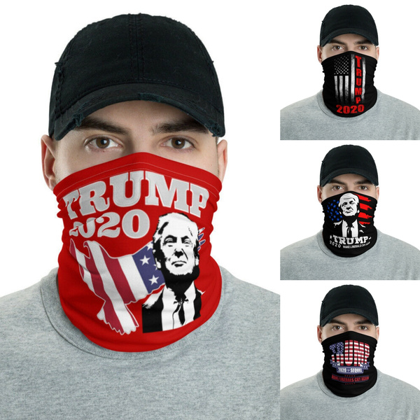 americaflag, Fashion, halffacemask, Bib