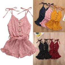 Heart, babyromperjumpsuit, babygirloutfit, Summer
