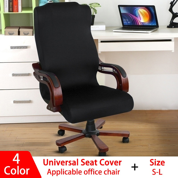 Universal Office Chair Cover Computer Slipcover Rotating Chair Stretch Covers