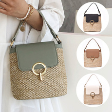 women bags, Shoulder Bags, summerbag, strawbag