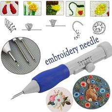 Magic, embroiderytool, Needles, Plastic