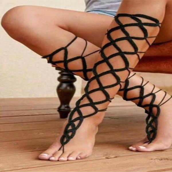 Bracelet, Cotton, Fashion, barefoot