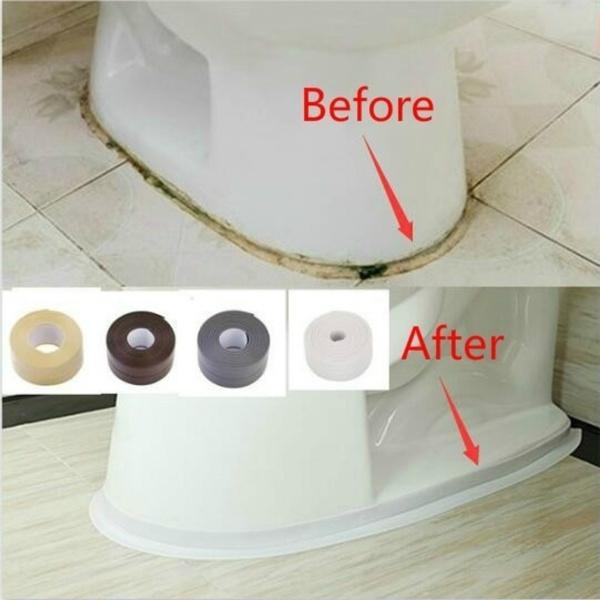 Bathroom, Waterproof, Home & Living, Stickers