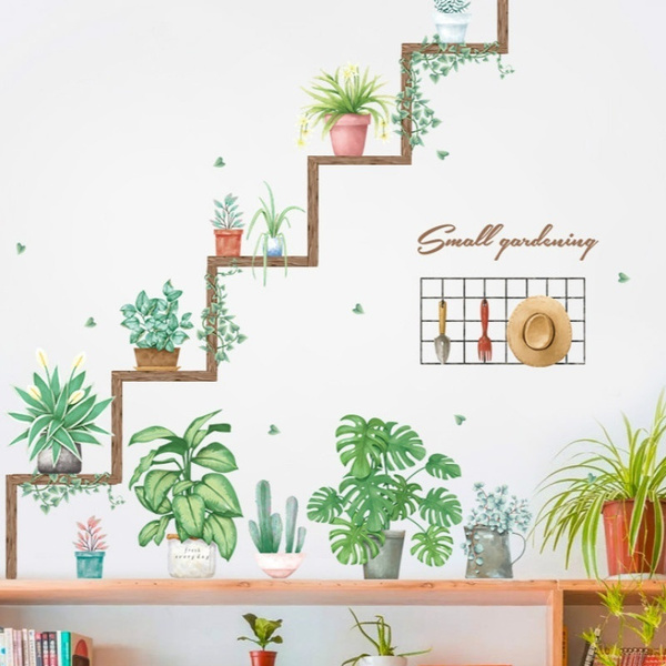 PVC wall stickers, Home & Kitchen, Decor, adesivodeparede